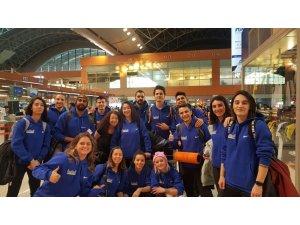 Marmara Üniversitesi Spor Kulübü Korfbol Takımı Belçika'ya gitti