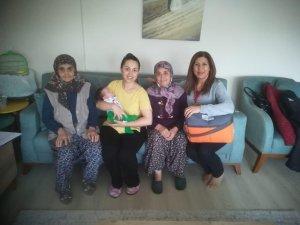 Kuşadası'nda 'Hoş Geldin Bebek' ziyaretleri devam ediyor