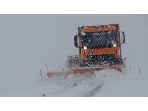 Muş'ta kar ve tipi nedeniyle kapanan karayolları ulaşıma açıldı