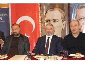 AK Partili Aşgın, Gazeteciler Günü'nü kutladı
