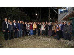 Başkan Çerçioğlu Karacasu'da muhtarlarla bir araya geldi