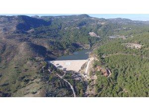 Adrasan Sulama Göleti su tutmaya başladı