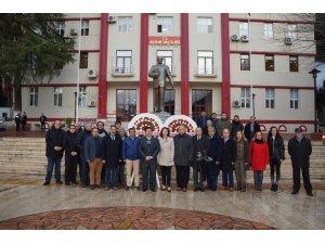 Aydın'da 10 Ocak Çalışan Gazeteciler Günü kutlandı