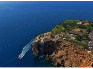 Muratpaşa'nın kent parkları ve falez plajlarına 2 yılda 670 bin ziyaretçi