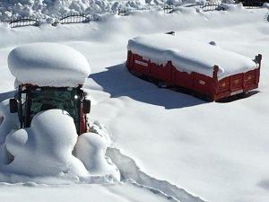 Beytüşşebap ilçesi kar altında kaldı