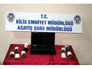 Güvenlik Kameralarını çalarak satan zanlı tutuklandı
