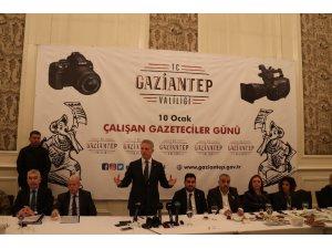 Vali Gül, gazeteciler gününde gazetecilerle bir araya geldi