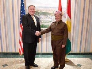 ABD Dışişleri Bakanı Pompeo, Barzani ile görüştü