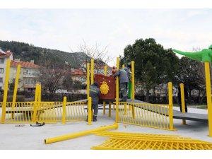 Engelli bireylere engelsiz park