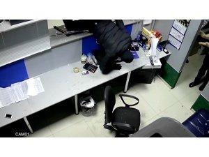 Rusya'da hırsız baltayla bahis ofisini soydu