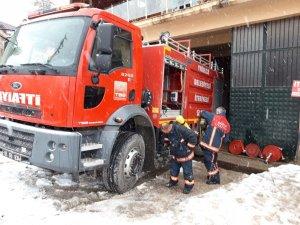 Yığılca'da itfaiye personeline yangın ve afet eğitimi