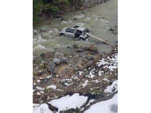 Ailesinin kayıp ihbarında bulunduğu kadın, kazada yaralı bulundu