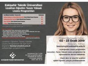 Anadolu Üniversitesi 'Tezsiz Yüksek Lisans' başvuruları başladı