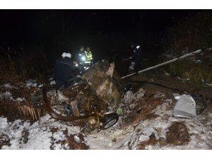 Edirne'de otomobil köprüden uçtu: 2 ölü