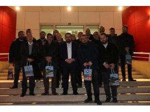 Başkan Aktepe gazetecilerle buluştu