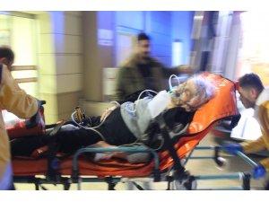Sobadan sızan gazdan zehirlenen gelin ve kayınvalidesi hastanelik oldu