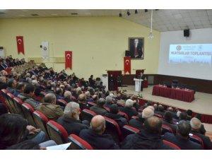 """Erzincan'da ki köy ve mahalle muhtarlarından """"Uyuşturucu ile mücadele"""" alanında destek istendi"""
