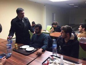 Gençlik ve Spor İl Müdürü Eskici öğrenci yurtlarında incelemelerde bulundu
