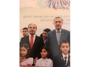 Gündüz'den şehit ve gazi çocuklarına Erdoğan'a destek çağrısı
