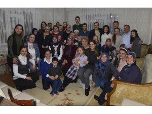 Başkan Ataç'tan istihdam edilen gence ziyaret