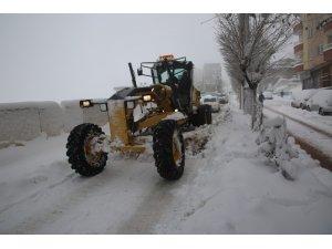 Şırnak'ta kar temizleme çalışmaları devam ediyor