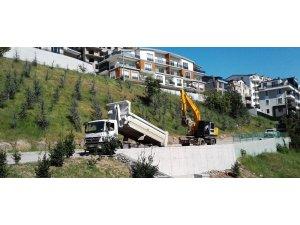 İzmit'te 3 kilometre merdiven yapıldı