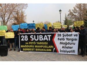 """""""28 Şubat ve FETÖ Yargısı Mağduru Aileler İnsiyatifi""""nden adalet çağrısı"""