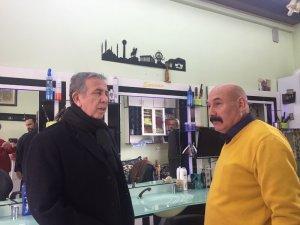 Mansur Yavaş, Ankara Kalesi esnafını ziyaret etti