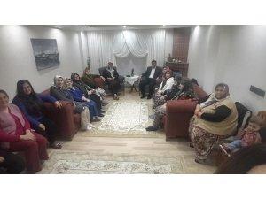 Başkan Arslan vatandaşların evlerine konuk oluyor