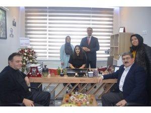 Başkanı Nihat Can iş yeri açılışına katıldı