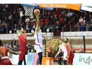 Tahincioğlu Basketbol Süper Ligi: Gaziantep Basketbol: 71 - Galatasaray: 67