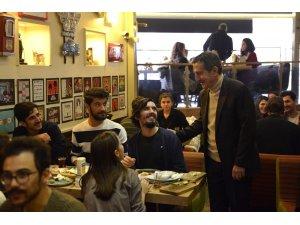 Başkan Ataç gençlerle buluştu