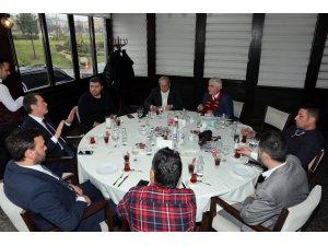 AK Parti'nin Zeytinburnu Adayı Ömer Arısoy yerel basınla buluştu