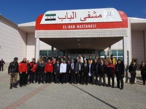 Suriye'nin Çobanbey kentinde 112 komuta merkezi faaliyete geçti