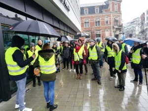Belçika'da Sarı Yeleklilerin eylemi sessiz geçti