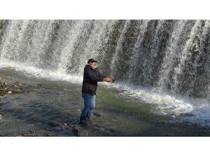 Gercüş Kırkat Göleti'nde kartpostallık görüntüler