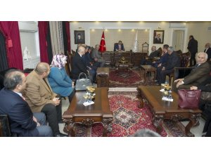 MHP heyetinden Vali Bilmez'e ziyaret