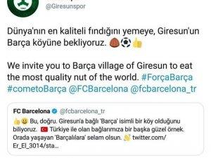 Giresunspor'dan dünya devi Barcelona'ya ilginç teklif