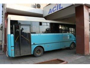 Ambulans değil halk otobüsü