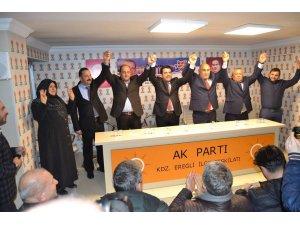 AK Parti'nin Kdz. Ereğli adayları kendilerini tanıttı