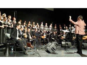 Odunpazarı Halk Eğitim Merkezi Türk Halk Müziği Korosu konseri