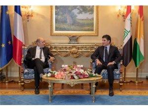 İran ve Fransa Dışişleri Bakanları Erbil'de