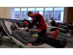Kayseri Barosu üyeleri kan bağışında bulundu