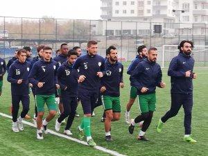 Yeşilyurt Belediyespor'da Pütürge Belediyespor maçı hazırlıkları sürüyor