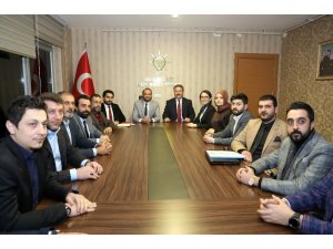 Başkan Palancıoğlu'dan Melikgazi teşkilatına ziyaret