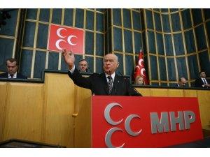 """MHP lideri Bahçeli: """"Binali Yıldırım'ın TBMM Başkanlığında istifasına gerek yoktur"""""""