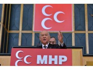 """MHP Lideri Bahçeli'den Trump'a: """"Tehditlerine tamam diyen senin gibi olsun"""""""