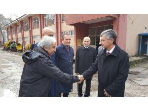 Vali Bektaş, TTK'da incelemelerde bulundu