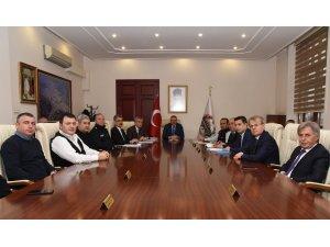 Spor Güvenlik Kurulu toplandı