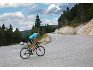 Kazazede bisikletçinin gözü Paralimpik Olimpiyatlar'da